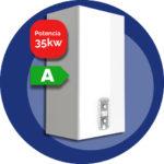 Pigma advance 35kW (Eficiencia)