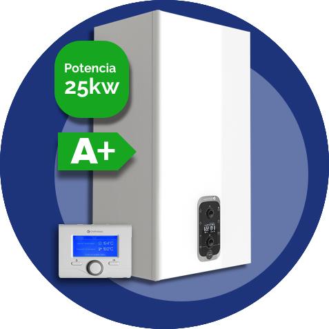 Urbia advance link 25kW (Eficiencia con termostato)