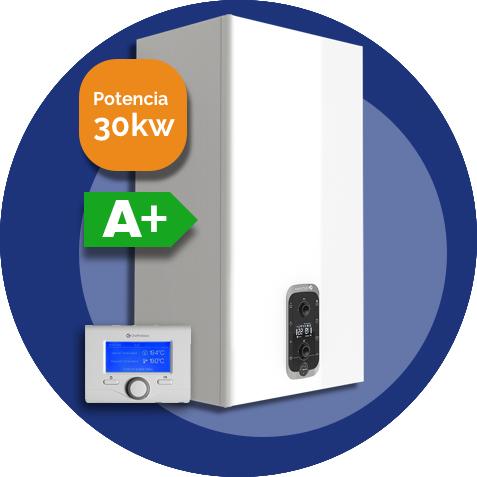 Urbia advance link 30kW (Eficiencia con termostato)