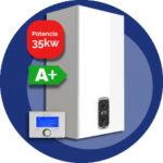 Urbia advance link 35kW (Eficiencia con termostato)